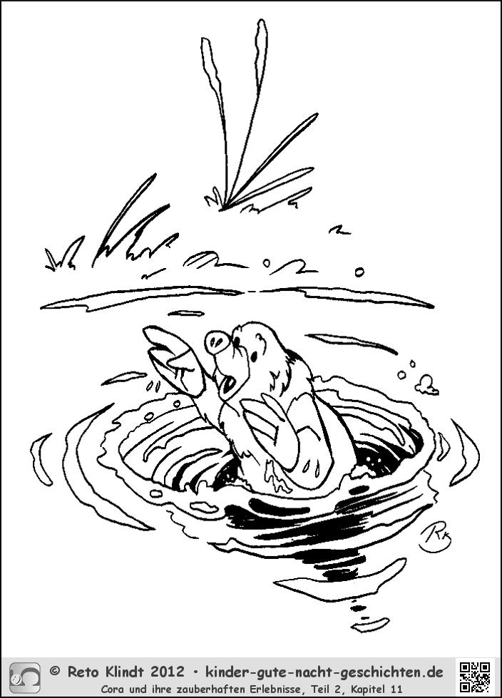 Ausgezeichnet Teich Szene Malvorlagen Bilder - Framing Malvorlagen ...
